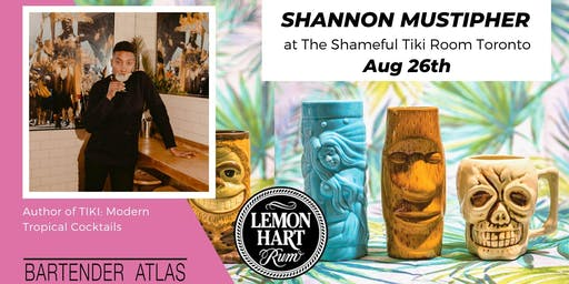 Shannon Mustipher at The Shameful Tiki Room Toronto