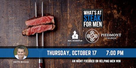 What's At Steak Night - Piedmont Church tickets
