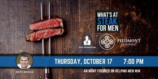 What's At Steak Night - Piedmont Church