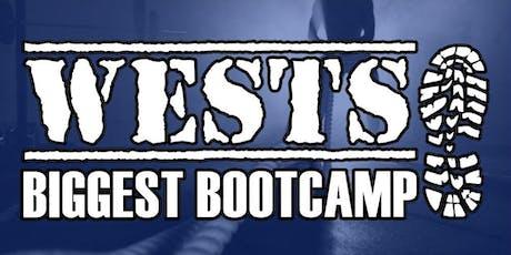 Wests Biggest Bootcamp tickets