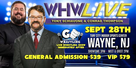 WHW LIVE! with Tony Schiavone tickets