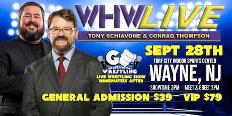 WHW LIVE! with Tony Schiavone tickets