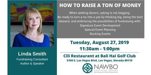 NAWBO Southern Nevada: Business Lunch - How to Raise a Ton of Money