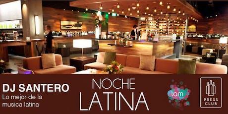 Noche Latina at Press Club tickets