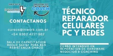 """Seminario Gratuito Lanzamiento Curso """"Reparador Profesional de Smartphones y PC"""" entradas"""