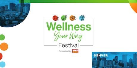 Wellness Your Way Festival Denver tickets