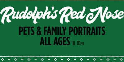 "Rudolph's Red Nose  ""Christmas in July"" Come meet Santa - Family and Pets"
