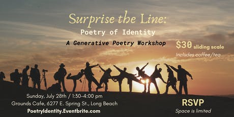 Surprise the Line: Poetry of Identity tickets