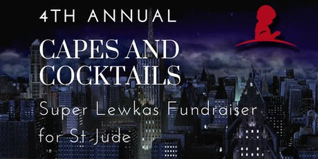 4th Annual Capes and Cocktails Benefiting St Jude tickets