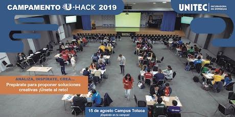 Campamento U-Hack 2019 Tol entradas