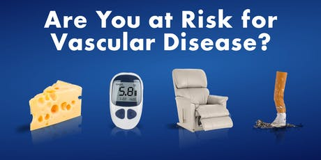 Doc Talk Live: Are You at Risk for Vascular Disease? Presented by Brandi Upton, MD (Fairfield) tickets
