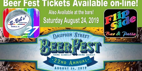 22nd Annual Beer Festival at B-Bob's and Flip Side tickets