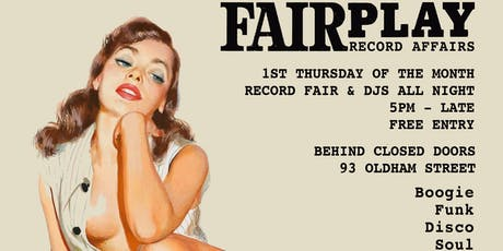 Fair Play - NQ Evening Record Fair tickets