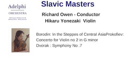 Slavic Masters tickets