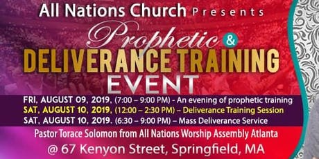 Prophetic & Deliverance Training Event tickets