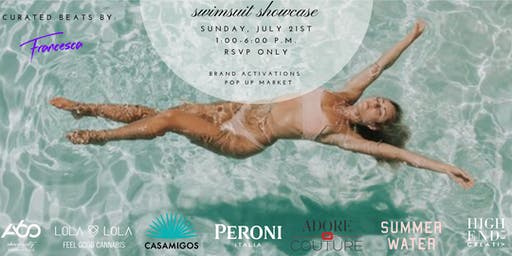 Casamigos x High End Creatives x Above SIXTY Swimsuit Fashion Showcase