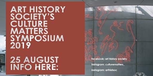 Culture Matters Symposium 2019: What's Next?