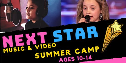 Next Star Music and Video Summer Camp