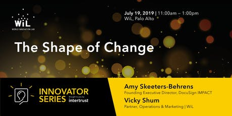 The Shape of Change | Diversity & Inclusion, Sustainability, and Equity tickets