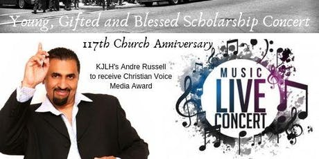 Young, Gifted, and Blessed Scholarship Concert tickets