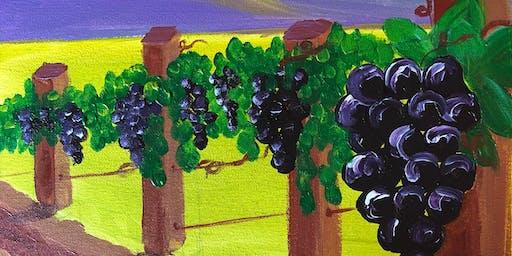 Paint Night at Ironhand Winery