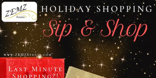 Holiday Sip & Shop at the Zen Lounge