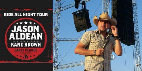 October 11, 2019,  Jason Aldean at Globe Life Park tickets