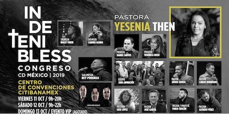 CONGRESO  INDETENIBLESS  MEXICO  2019/ PUBLICO GENERAL (Hombres y Mujeres) boletos
