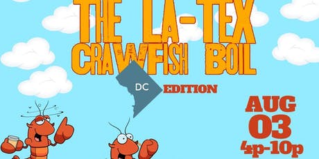Latex Crawfish Boil: DC Edition featuring Legendary Burger #burgerandbooze tickets