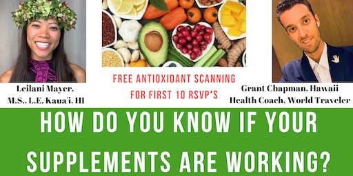 Antioxidant Testing