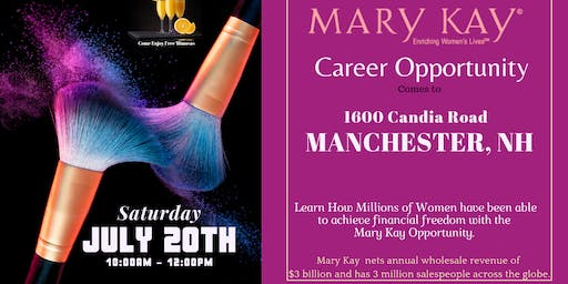 Mary Kay Career Opportunity Comes to Manchester, NH