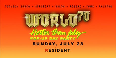 World70 pop-up day party tickets