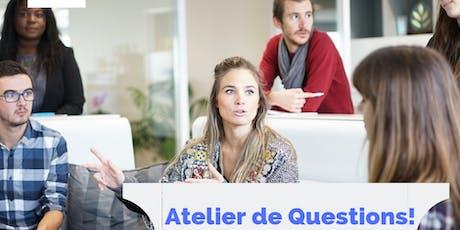 Atelier de  Questions / Réponses du Quotidien ingressos