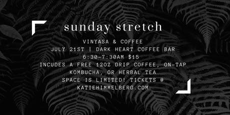 Sunday Stretch @ Dark Heart Coffee Bar tickets