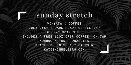 Sunday Stretch @ Dark Heart Coffee Bar