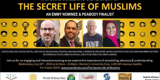 Secret Life of Muslims in Seattle: Screening & Panel Event