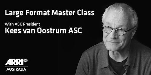 Large Format Camera & Lens Master Class - Sydney