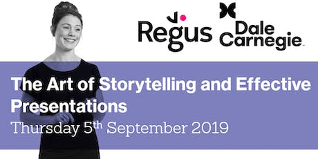 The Art of Storytelling and Effective Presentations - Regus Workshop tickets