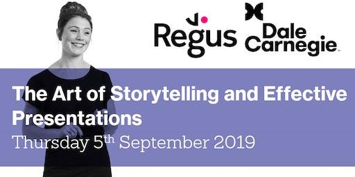 The Art of Storytelling and Effective Presentations - Regus Workshop