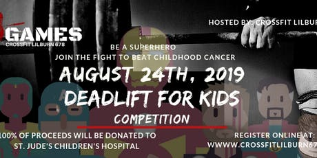 CF 678 Games DEADLIFT FOR KIDS tickets