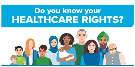Charter of Healthcare Rights - Online Launch tickets