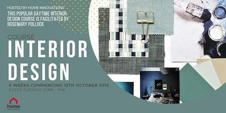 Interior Design Course - 6 Weeks tickets