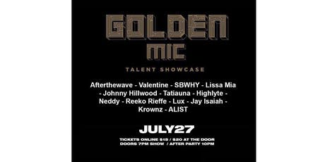 Golden Mic Showcase tickets