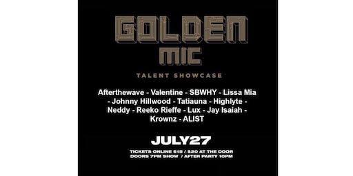 Golden Mic Showcase