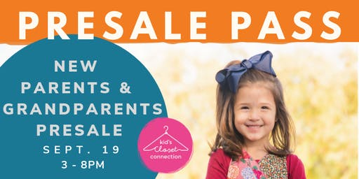 Fall 2019 New or Expecting Parents \ New Grandparents PreSale