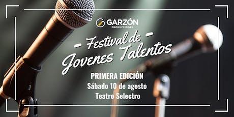"""""""FESTIVAL JOVENES TALENTOS"""" Primera Edición Mendoza entradas"""