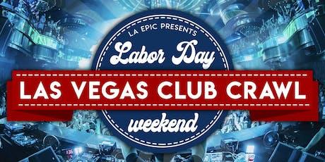 Las Vegas Labor Day Weekend Club Crawl tickets