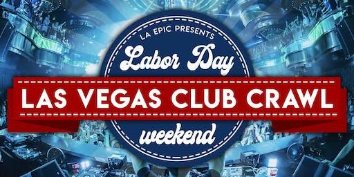 Las Vegas Labor Day Weekend Club Crawl