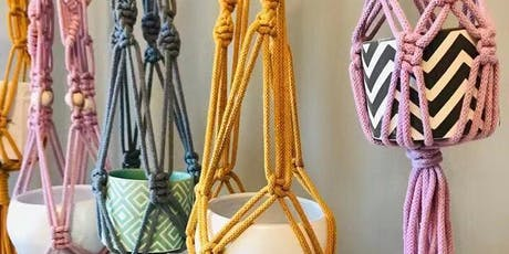 Adult Macrame Plant Hanger tickets