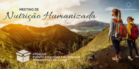 1 Meeting Nutrição Humanizada - Blumenau ingressos